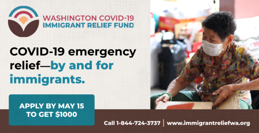 Washington COVID-19 Immigrant Relief Fund - 2nd Application