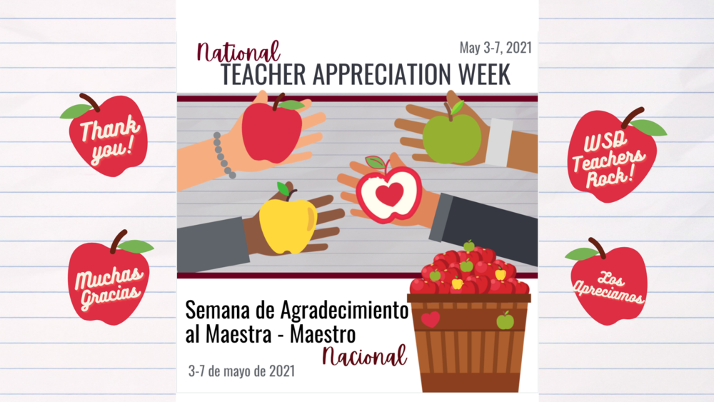Thank You WSD Teachers!