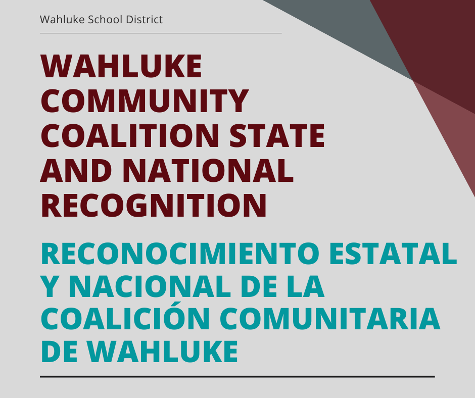 Wahluke Community Coalition State and National Recognition